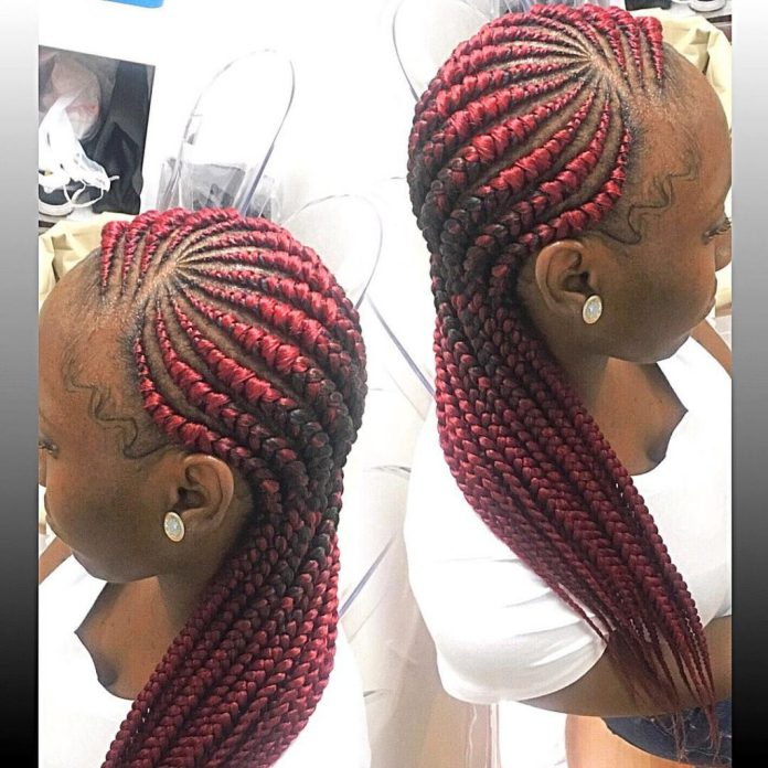 Checkout The 10 Best Ghana Weaving Hairstyles To Rock This Weekend