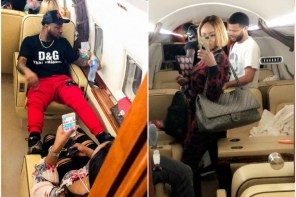 Davido and his girlfriend alongside DJ Cuppy and Asa Asika jet off to Senegal (Photos/Video)