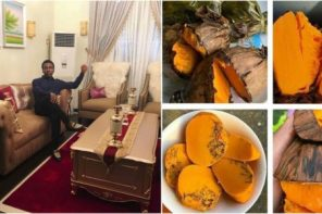 I sold 'okpa' for 10 years and it was my daily meal – Frank Edwards