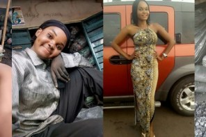 Meet beautiful Nigerian lady Who Proudly Sells Charcoal To Earn A Living (Photos)