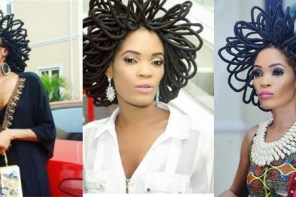 "Video: ""My hair is worth N40million and I won't be apologetic about it"" – Chika Lann"