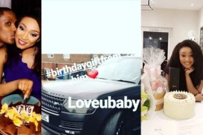 Nigerian footballer, Jude Ighalo gifts his wife, Sonia, with Range Rover on her birthday