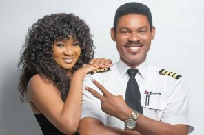 'Captain of Many Planes and My Heart' – Omotola Ekeinde Pays Her Husband a Heartwarming Tribute