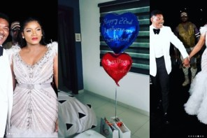 Omotola Jalade Ekeinde Celebrates Her Husband On His Birthday And Their 22nd Wedding Anniversary