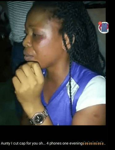 Shocking: UNIOYO Fine Girl Disgraced For Stealing 4 Android Phones