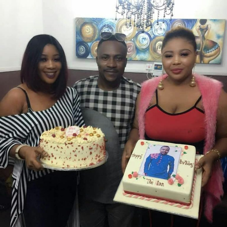 Nollywood Actor, Segun Ogungbe Celebrates His Two Wives Ahead Of Their Birthdays In April
