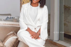 Linda Ikeji Gifts 30 Million Naira Mercedes Benz To Her Sister Sandra