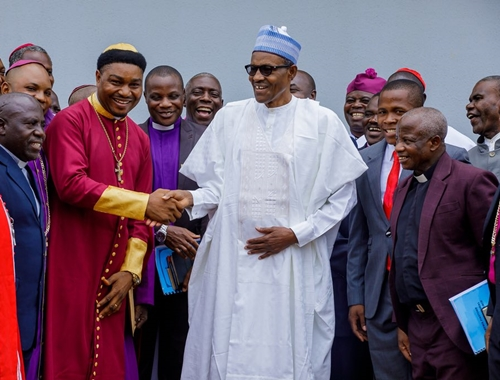 Image result for Christians in Nigeria in buhari