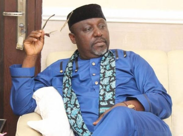 "rochas okorocha 696x518 - ""Look what greed as caused you"", Nigerians mock Okorocha over abrupt retirement from politics"