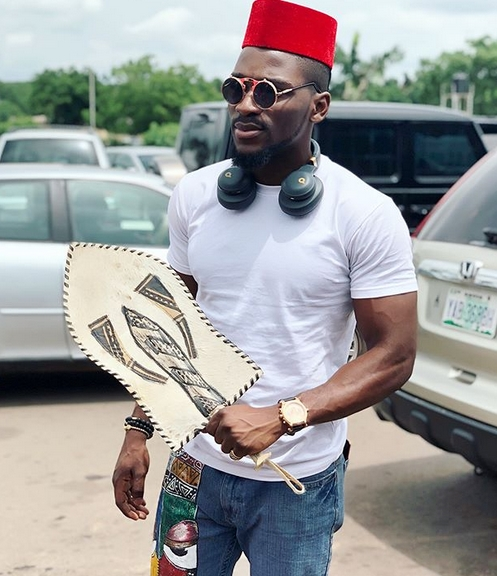 bbnaija star tobi bakre conferred with chieftaincy title by fans in enugu state photos - 'It irks me when people celebrate that foreign acts are listening to our songs' – Tobi Bakre