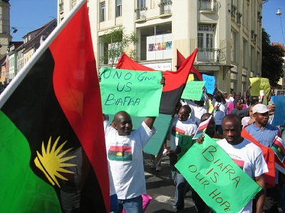biafra day massob others blow hot say security agents cant intimidate members - Why We Declared May 30th A Sit At Home Day – IPOB