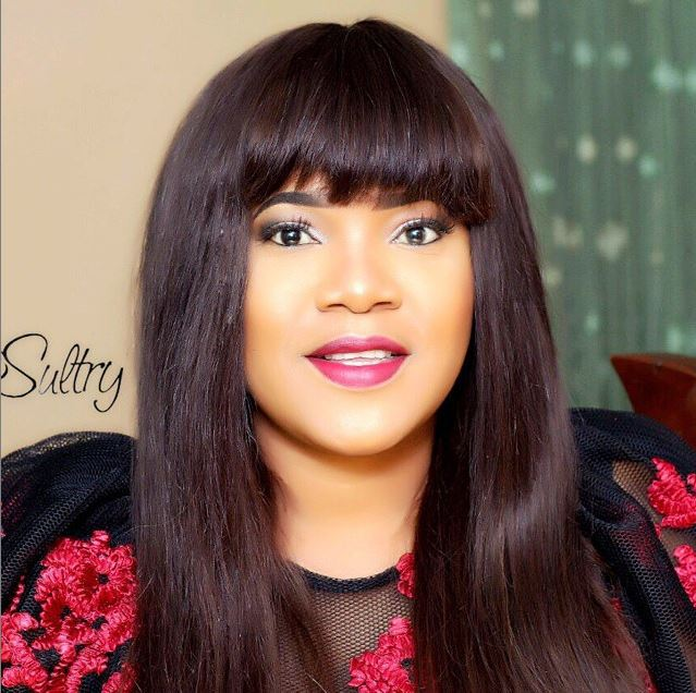 days after being called out mercy aigbe sends shoutout to fiancee of toyins ex husband johnson - Toyin Aimakhu comes for cyber-bullies