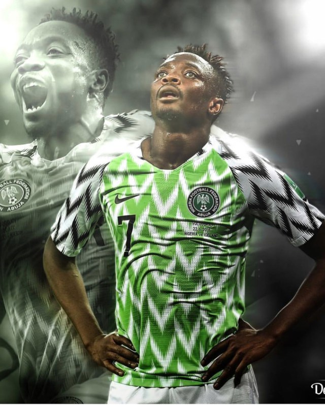 Ahmed Musa reacts
