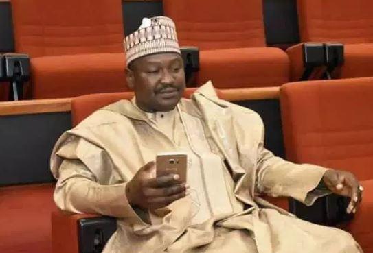 bauchi constituents protest against senator misaus defection to pdp photos - #2019Election: APC congratulates PDP for victory in Bauchi