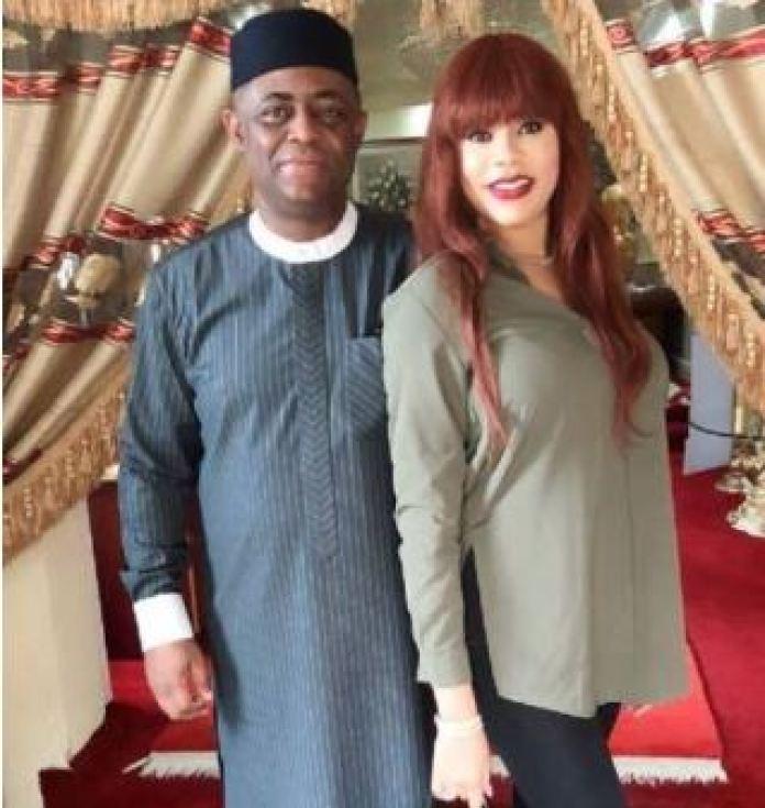 Femi Fani-Kayode and his wife