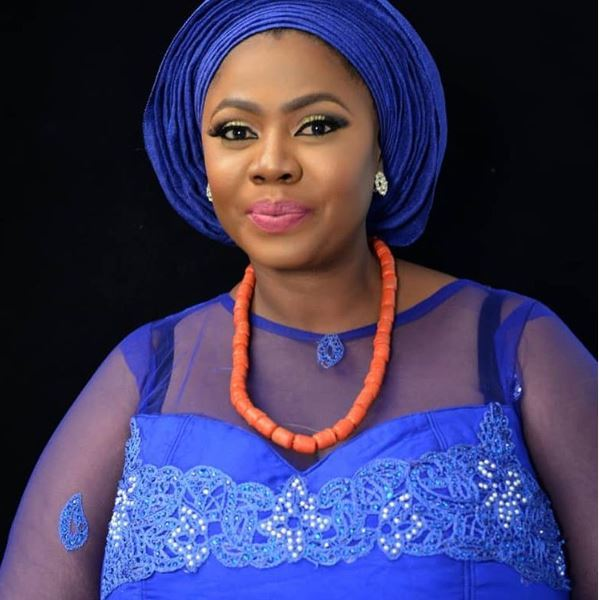 plus-sized Nollywood actress