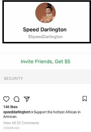 Speed Darlington begs