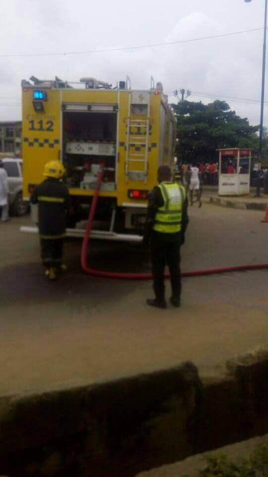 HMMNBig Tragedy Averted As Diesel Tanker Almost Falls