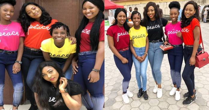 6 sisters thrive despite losing their mum 10 months after losing their dad (Photos)