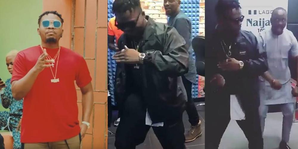"Olamide Introduces New Dance Step ""Kpakujemu"" (Video"
