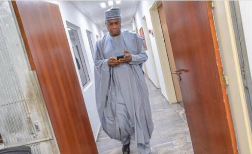 saraki must resign now or face the consequences senator blows hot - Breaking News: Federal High Court invites Saraki, Dino, Murray-Bruce over Osun protest