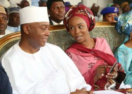 Coza Rape Saga: Toyin Saraki, Former Senate President's Wife, Reacts