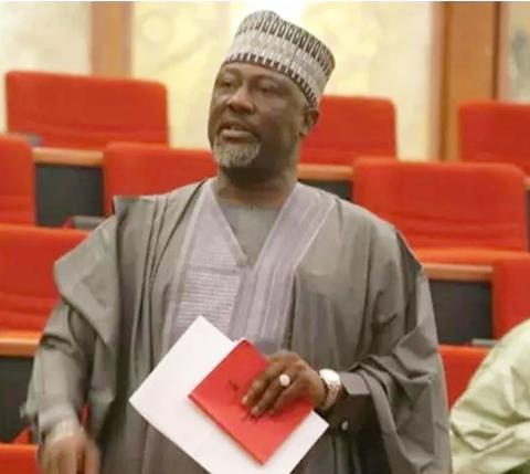 senator dino melaye raises alarm as he squares up with police in abuja - PDP will soon rise, Atiku is coming – Melaye