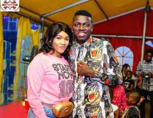 Akpororo and Wife Josephine - Akpororo Celebrates Wife With Powerful Message