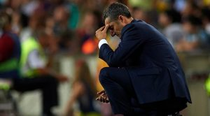 "Ernesto Valverde 180927 G1050 - ""FIRE VALVERDE RIGHT NOW"" – Fans Call For Barcelona's Coach Sack After Disappointing Loss To Liverpool"