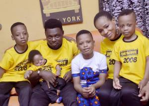 kunle Afod celebrate sons birthday - Kunle Afod Buys Brand New Car For His Wife