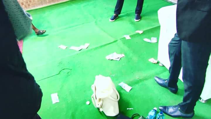 "pastor vomits miracle money during church service video 3 - Pastor vomits ""miracle money"" during church service (Wacth Video)"