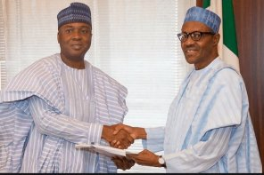 Watch video of Saraki asking Kwarans to vote Buhari