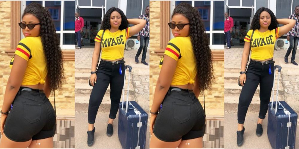 forever 16 regina daniels tells her fans as she looks stunning in new photos - [Photos]: Nollywood Actress, Regina Daniels Gifts Her Mum With A Mansion