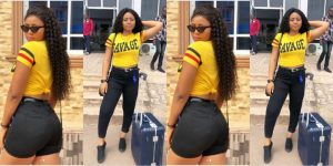 Nigerians Question Source Of Regina Daniels Wealth After She Bought Another Benz