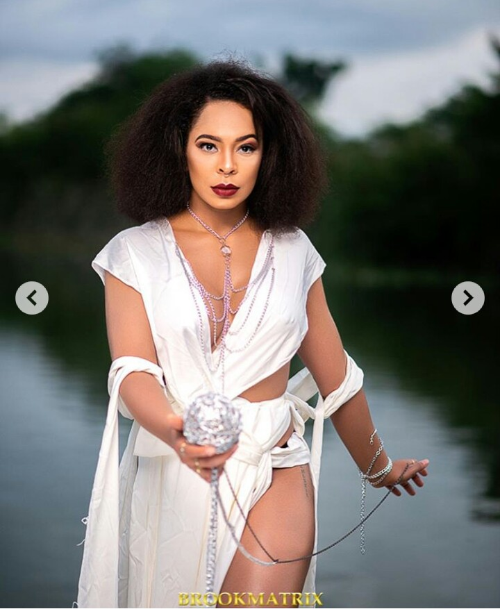 tboss launches attack against aedc for billing her n95k for a month - Between BBNaija's Tboss and a body-shamer on IG