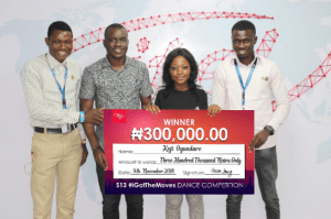 1 - ITEL MOBILE'S #IGOTTHEMOVES DANCE FINALE: WHO TOOK HOME THE N500,000 PRIZE?