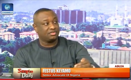 2019 presidential debates festus keyamo reveals who will decide if buhari will debate - Whoever thinks that I would pay a penny for a song by Area fada that disses both the APC and PDP must have his/her head examined – Keyamo