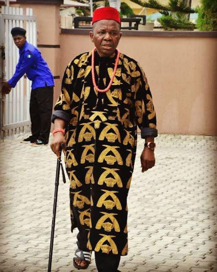 Nollywood Actor Chiwetalu Agu Debunks Death Rumour
