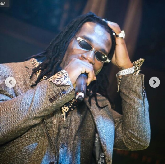 """See Burna Boy's response to a critic who said """"he's wall gecko that was hyped to believe he's crocodile"""""""