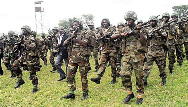 nigerian army discover 100 recruits undergoing military training in fake militia training camp in rivers - We will adopt a proactive posture that ensures that ballot snatching, do not even arise – Army