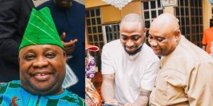 passenger named ademola adeleke slumps dies at lagos airport davidos uncle reacts - What Davido Has To Say About Appeal Court Affirming His Uncle, Ademola Adeleke, Candidature