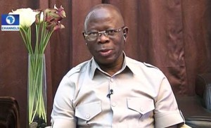 Nigerians Knock Oshiomole For Saying APC Is Not Ready To Share Power With PDP