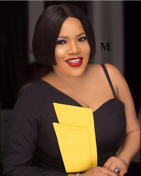 toyin abraham looks radiant in off shoulder outfit - I Am Not Impressed By Money, Social Status Or Job Title – Toyin Abraham