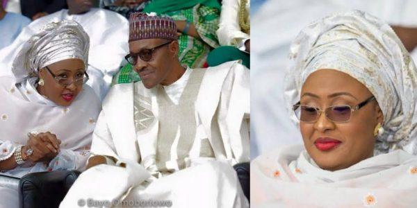 Aisha and President Buhari