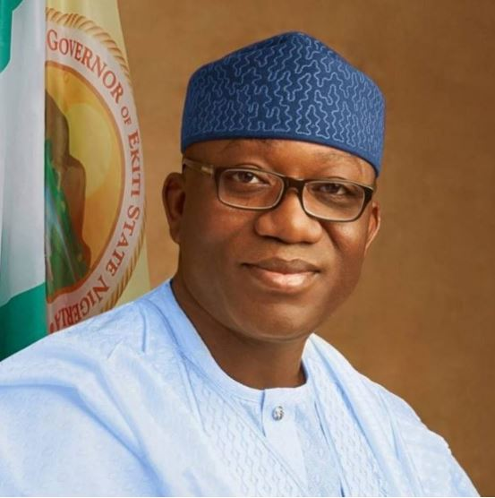 "gov fayemi speaks on banning okada in ekiti - ""We thought you're educated"" Nigerians blast Fayemi over proposed airport construction"