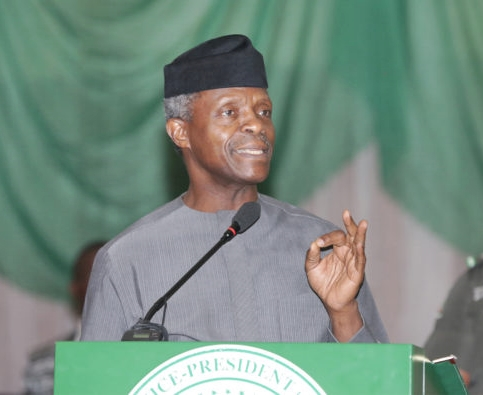 how will one jibril from sudan preside over fec osinbajo queries during aso rock meeting - (Video)I haven't resigned – Osinbajo