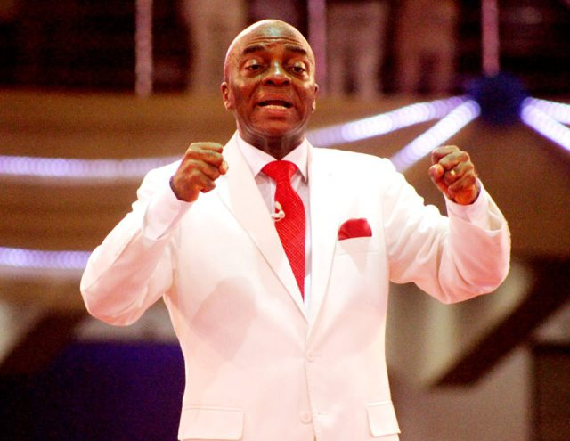 im dangerously wealthy bishop oyedepo says - 'I will make you lose your job' – Bishop Oyedepo blows hot