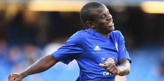 Chelsea midfielder, N'golo Kante