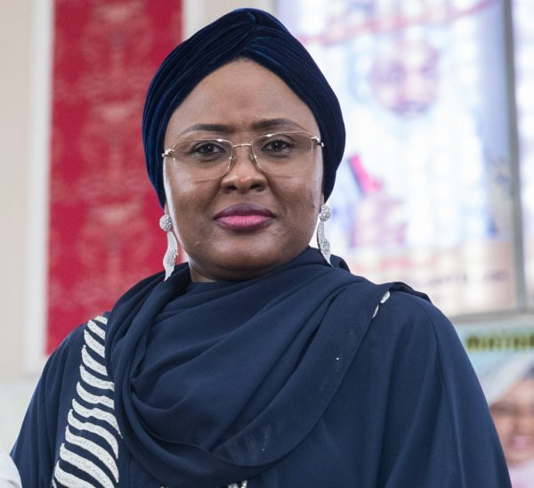 n150m scandal president buharis wife aisha breaks silence - Aisha Buhari visits survivors of Lagos Building Collapse