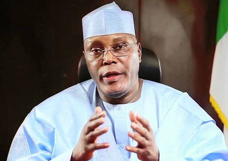 nigerians protest against us granting atiku visa - What Nigerians Are Saying After Atiku Accused APC of plotting To Rig The Forthcoming Presidential Poll Would Leave You Proud As A Nigerian